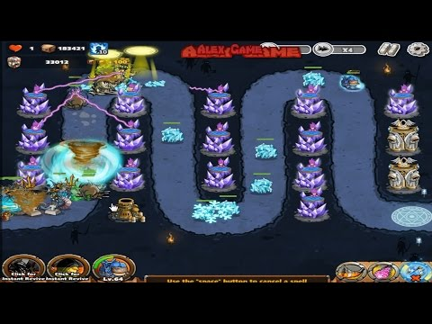 The King Of Towers - Blitz Acres (Defeat Poseidon) 66-70 Final Waves From Alex Game Style (Part 150)