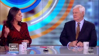 """Trump Mocks """"Phony Emoluments Clause""""   The View"""