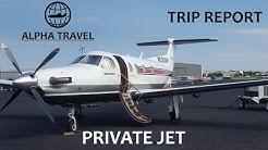 TRIP REPORT - Jetsmarter Pilatus PC12 PRIVATE JET - Orlando Executive to Miami Opa-Locka