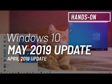 Windows 10 version 1903, May 2019 Update, features