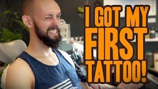 SURPRISE! I Got My First Tattoo! (Vlog)