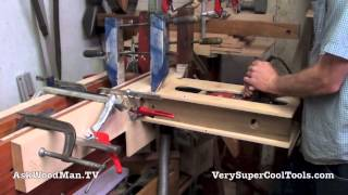 Roubo Workbench With Double Moxon Vise • 4 Of 8 • 2nd Drill Setup