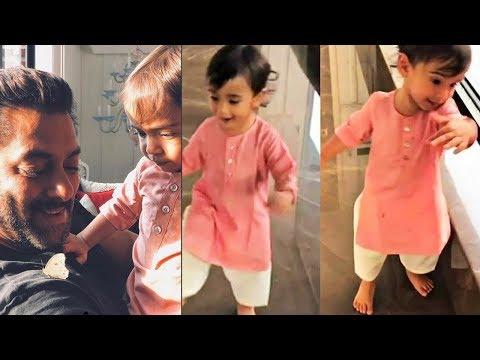 Salman Khan's CUTE Videos Playing With Nephew Ahil Sharma At Home Mp3
