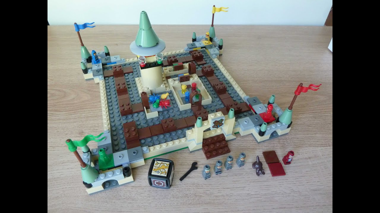 Lego 3862 Lego Board Game Harry Potter Hogwarts Youtube