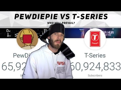 PEWDIEPIE VS T-SERIES -  WHO WILL WIN?