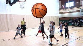 🏀BOY'S FIRST BASKETBALL GAME SINCE BROKEN LEG👦🏽 | DYCHES FAM
