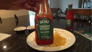 Heinz Tomato Ketchup blended with Real Jalapeno: Review and Tasting