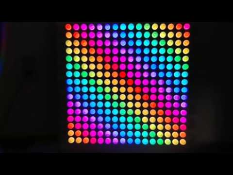 LED Matrix 16x16 (WS2812) + SD Card (bitmap)   FunnyCat TV