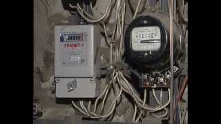 Замена электросчетчик