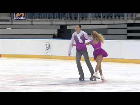 2015 ISU Junior Grand Prix Bratislava Free Dance Olga GIGLAVA / Aleksandr SIROSHTAN