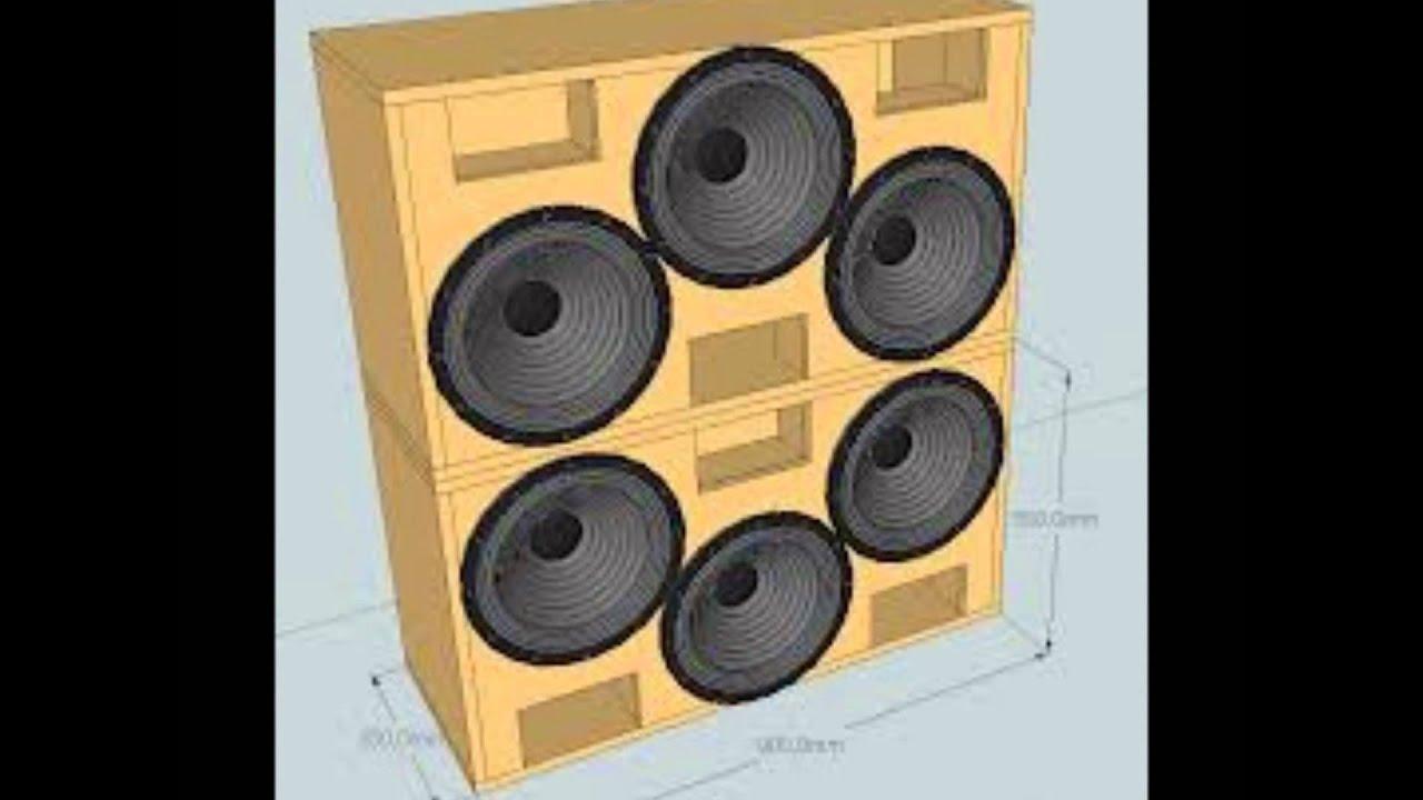 como fazer caixa de som modelos e medidas   #B87B13 1440x1080