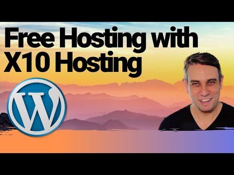 Free WordPress Hosting - Step by Step, Beginner Tutorial with X10hosting thumbnail
