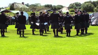 Dumfries and Galloway Constabulary Pipe Band Grade 2