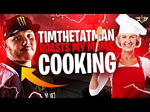 TIMTHETATMAN ROASTS MY MOM'S COOKING!? SHE CONFRONTS HIM! (Fortnite: Battle Royale)