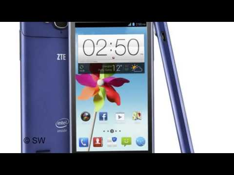 ZTE Grand X2 with 45 inch 720p display and 8 MP auto focus camera New ZTE Grand X2