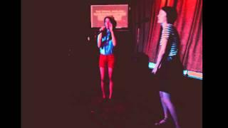 karaoke in a skeezy dive. harvery danger - flagpole sitta