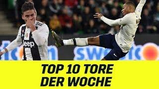 Top 10 der Woche: Gewaltiger Paulo Dybala und ein überragender Kylian Mbappe | DAZN Highlights