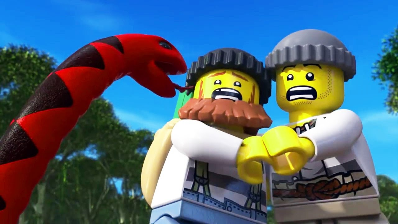 Lego City The Wild Chase Swamp Police Mini Movie Hd Youtube
