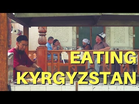 Eating Kyrgyzstan: Traditional Kyrgyz food in Bishkek