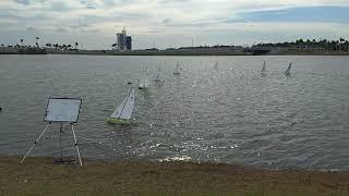 RC sailboats in Florida -Sarasota RC yacht club