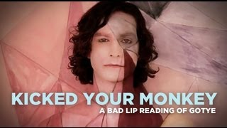 """Kicked Your Monkey"" — A Bad Lip Reading of Gotye's ""Somebody That I Used To Know"""