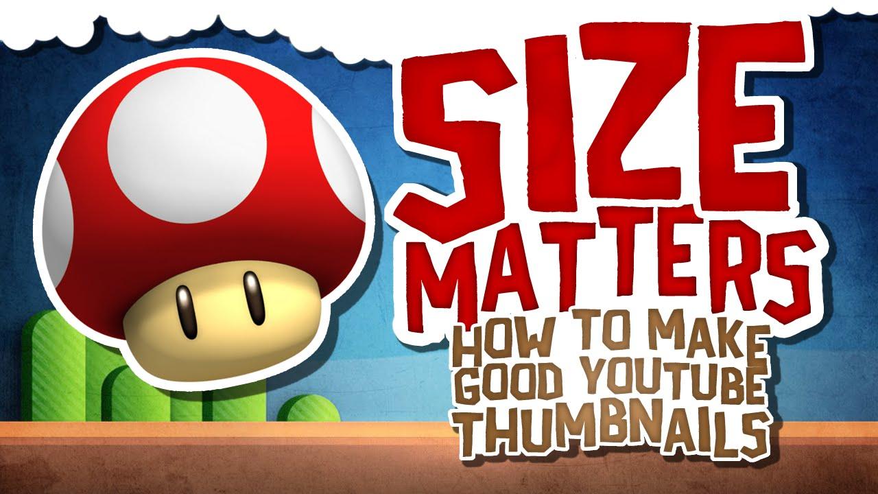thumbnail size matters