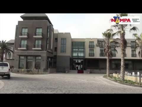 NAMPA: SWK President Geingob inaugurates Strand Hotel 05 Nov 2015 HD