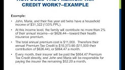 How does the Premium Tax Credit work?