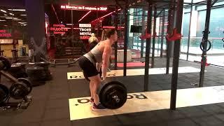 Вызов Виктору Блуду в становой тяге: 230 кг на ??? повторов