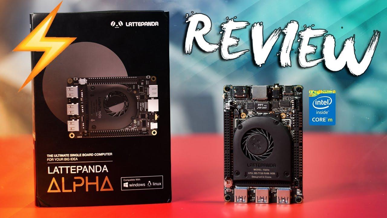 LattePanda Alpha 8G/64GB – A Tiny Windows / Linux Mini PC