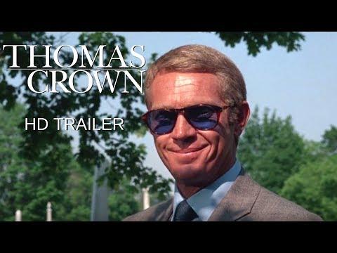 The Thomas Crown Affair (1968) Trailer #1 - Steve McQueen - Faye Dunaway