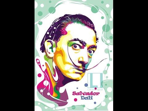 Tutorial Vector Pop Art (Salvador Dali) by Limada Iqbal | Part 3