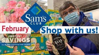 SAM'S CLUB Shopping Trip - FEBRUARY INSTANT SAVINGS BOOK - January 27 - February 21, 2021.