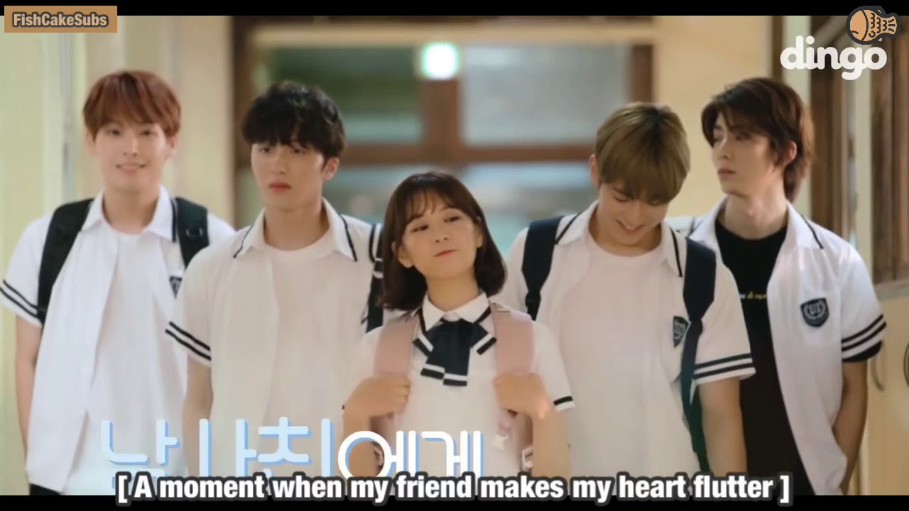 Eng Sub Dingo Story Ep01 Moment When My Friend Makes My Heart Flutter With Sf9 180811 Youtube