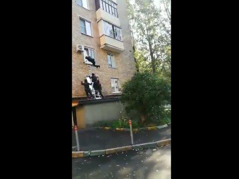 Спецназ пошел на штурм квартиры и потерпел неудачу