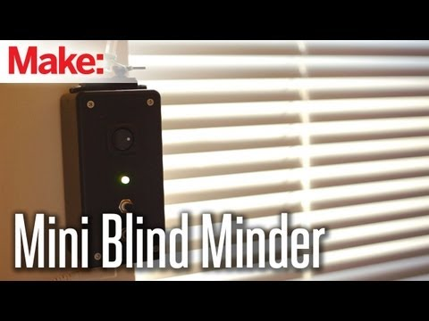 Weekend Projects - Mini Blind Minder