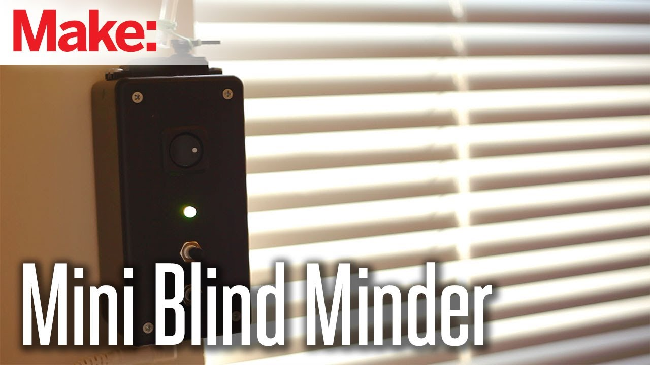 Diy home automation blinds