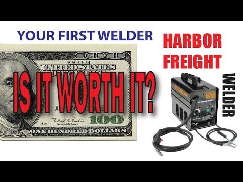 Harbor Freight Welder worth it for a 100 bucks?