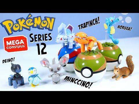 Nidoran Trapinch... Horsea Deino Pokemon Mega Construx Series 12 Complete