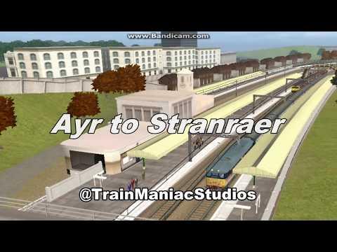 Trainz Routes: Ayr to Stranraer