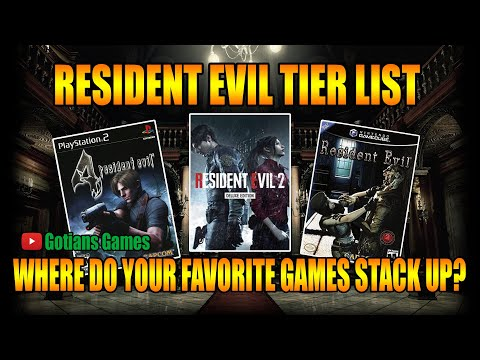 Resident Evil Games Tier List! What Games Do I Rate As the Best and Worst?