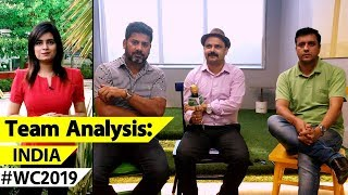 WORLD CUP TEAM ANALYSIS INDIA: What Makes India Strong Favs - Batting ...