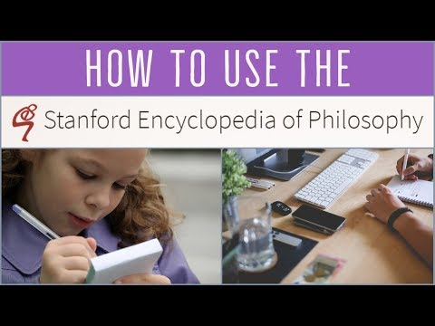 How to Use the Stanford Encyclopedia of Philosophy