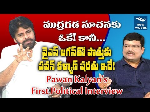 Pawan Kalyan's First Political Interview | Janasena | Viewpoint With Gangadhar | New Waves