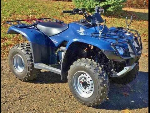 Honda Four Wheelers For Sale >> 2008 Honda Recon ES ATV, 2WD 4-wheeler FOR SALE - YouTube