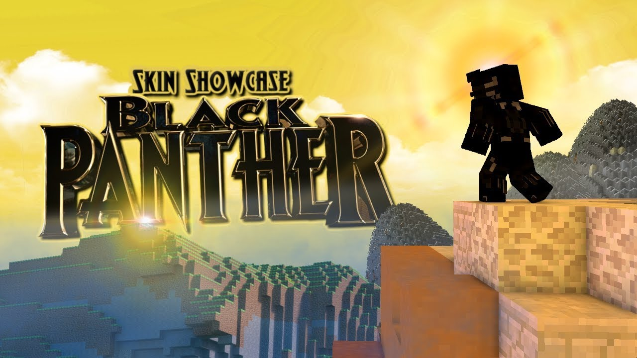 Black Panther Minecraft Skin Pack Release Download Youtube