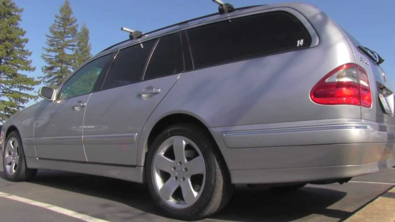 2000 mercedes benz e320 wagon youtube for 2000 mercedes benz e320 wagon