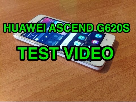 Huawei Ascend G620S - test video fullHD