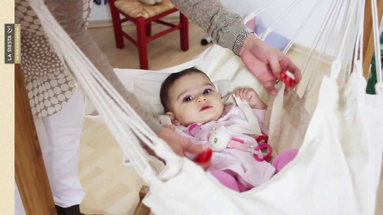 hammock for babies made of organic cotton   la siesta hammock for babies made of organic cotton   la siesta   youtube  rh   youtube