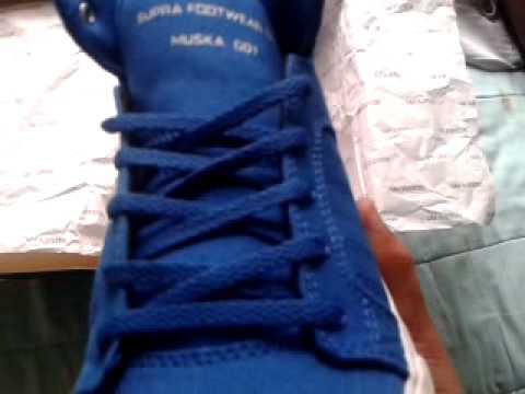Zapatillas Supra Azules